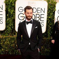 Jamie Dornan at the Golden Globes 2015 red carpet