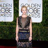 Claire Danes en la alfombra roja de los Globos de Oro 2015