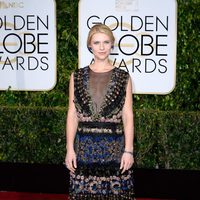 claire-danes at the Golden Globes 2015 red carpet