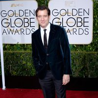Clive Owen at the Golden Globes 2015 red carpet