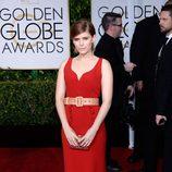 Kate Mara en la alfombra roja de los Globos de Oro 2015