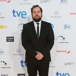 Carlos Vermut en los Premios José María Forqué 2015