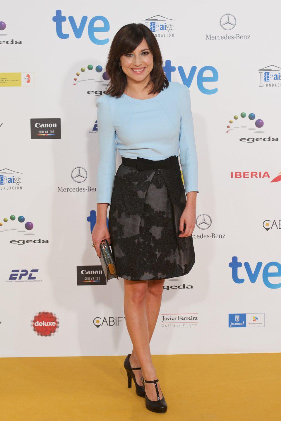 Marian Álvarez en los Premios José María Forqué 2015