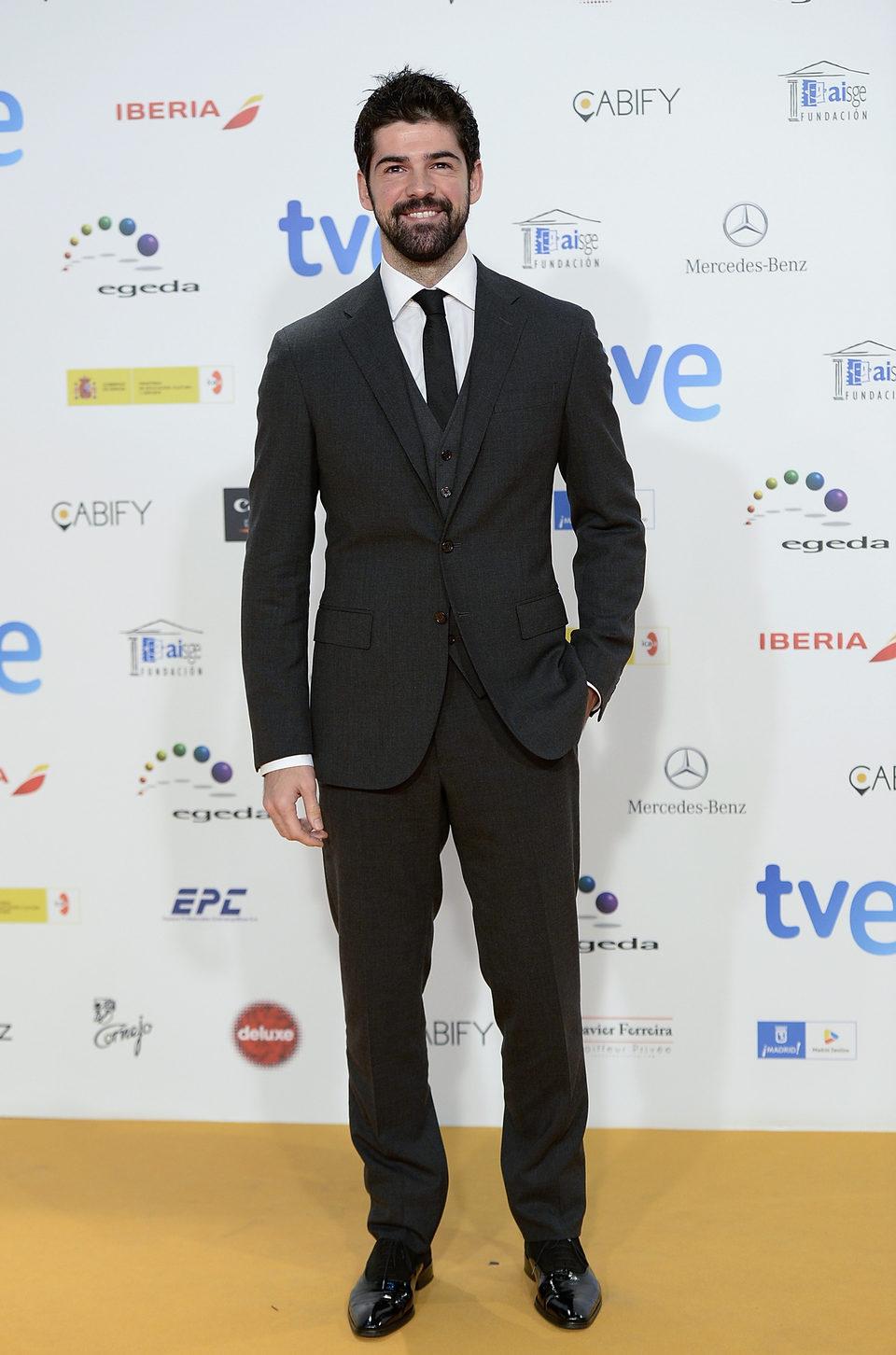 Miguel Ángel Muñoz en los Premios José María Forqué 2015