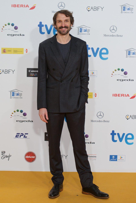 Julián Villagrán en los Premios José María Forqué 2015
