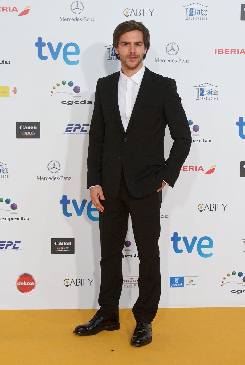 Marc Clotet en los Premios José María Forqué 2015