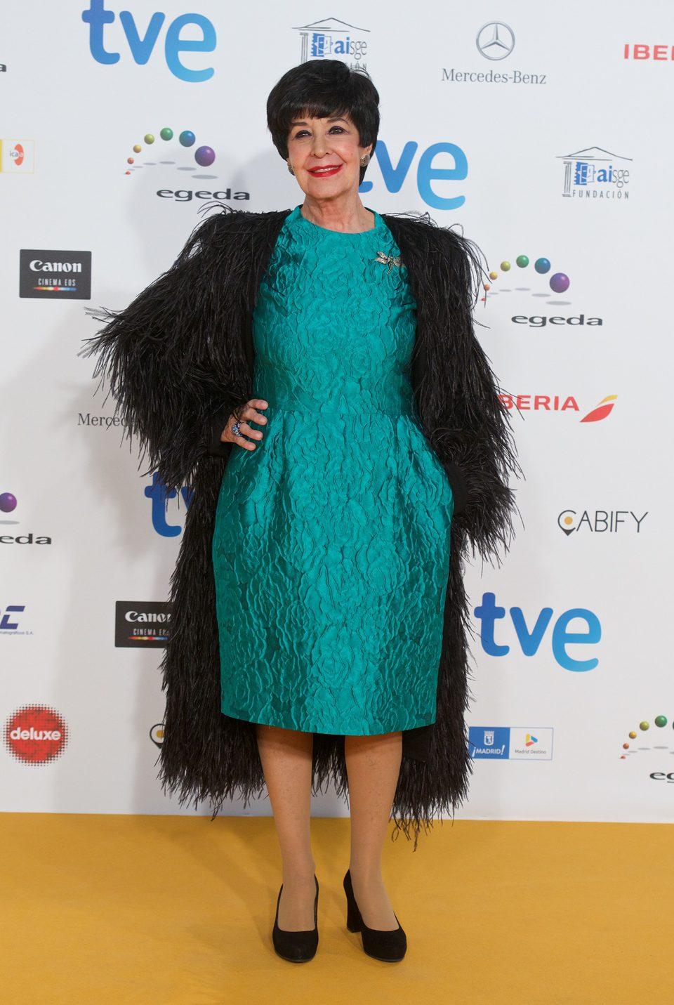 Concha Velasco en los Premios José María Forqué 2015