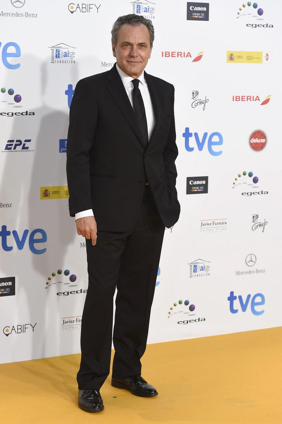 José Coronado en los Premios José María Forqué 2015