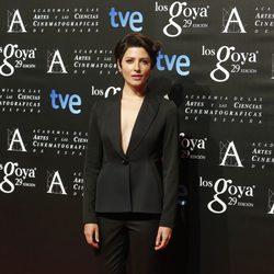 Bárbara Lennie en la fiesta de los nominados a los Premios Goya 2015