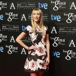 Ingrid García Jonsson en la fiesta de los nominados a los Premios Goya 2015
