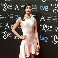 Nerea Barros en la fiesta de los nominados a los Premios Goya 2015