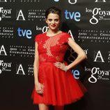 Macarena Gómez en la fiesta de los nominados a los Premios Goya 2015