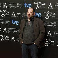 Karra Elejalde en la fiesta de los nominados a los Premios Goya 2015