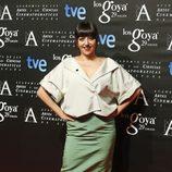 Yolanda Ramos en la fiesta de los nominados a los Premios Goya 2015