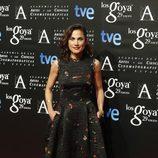 Toni Acosta en la fiesta de los nominados a los Premios Goya 2015
