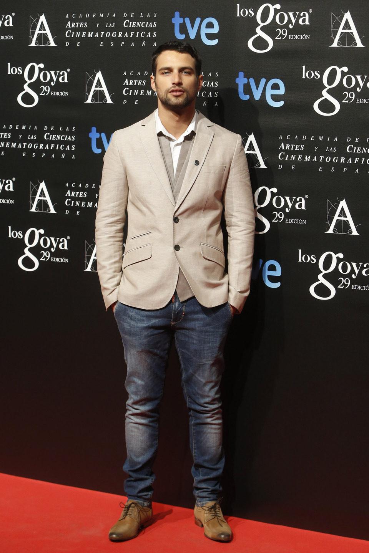 Jesús Castro en la fiesta de los nominados a los Premios Goya 2015