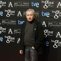 José Sacristán en la fiesta de los nominados a los Premios Goya 2015