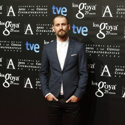 Raúl Arévalo en la fiesta de los nominados a los Premios Goya 2015