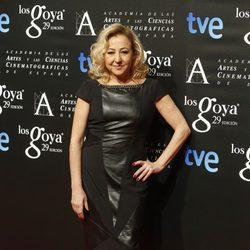 Carmen Machi en la fiesta de los nominados a los Premios Goya 2015