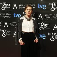 María León en la fiesta de los nominados a los Premios Goya 2015