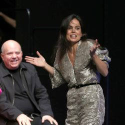 Elena Anaya se toma con humor su caída en la fiesta de los nominados a los Goya 2015