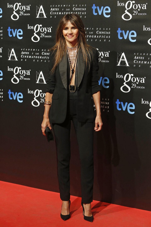 Goya Toledo en la fiesta de los nominados a los Premios Goya 2015