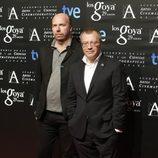 Daniel Monzón en la fiesta de los nominados a los Premios Goya 2015