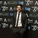 David Verdaguer en la fiesta de los nominados a los Premios Goya 2015