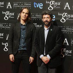 Alberto Rodríguez en la fiesta de los nominados a los Premios Goya 2015