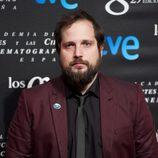 Carlos Vermut en la fiesta de los nominados a los Premios Goya 2015