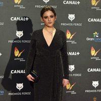 Marina Salas en los Premios Feroz 2015