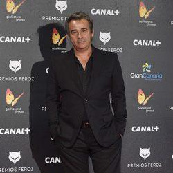 Eduard Fernández en los Premios Feroz 2015