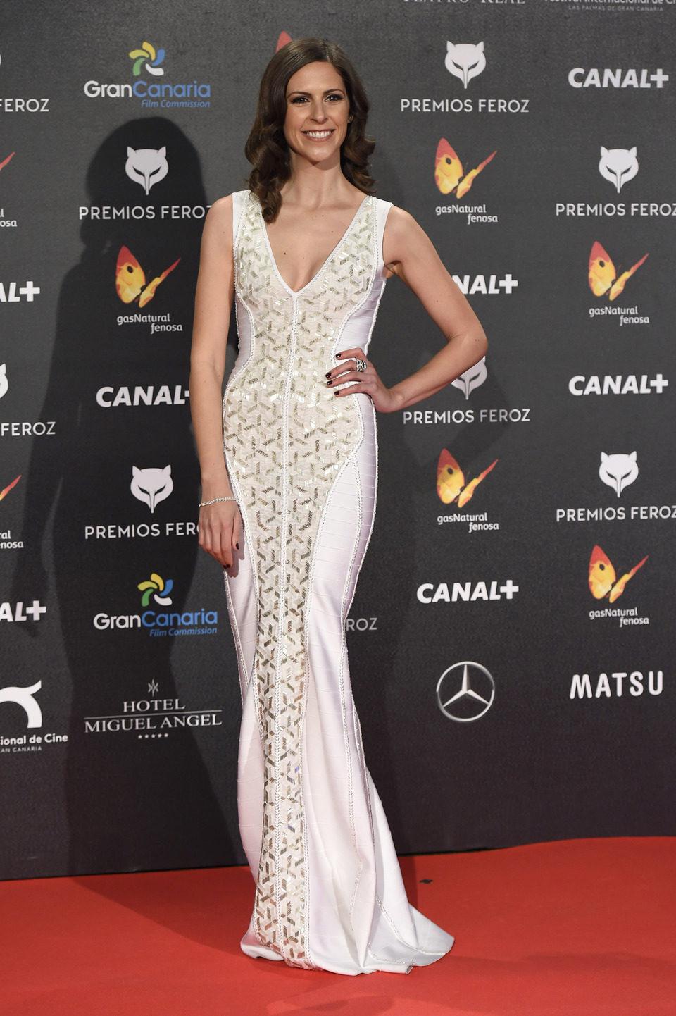 Bárbara Santa-Cruz en los Premios Feroz 2015