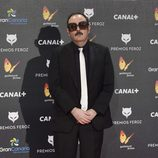 Carlos Areces en los Premios Feroz 2015