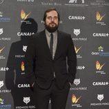 Carlos Vermut en los Premios Feroz 2015