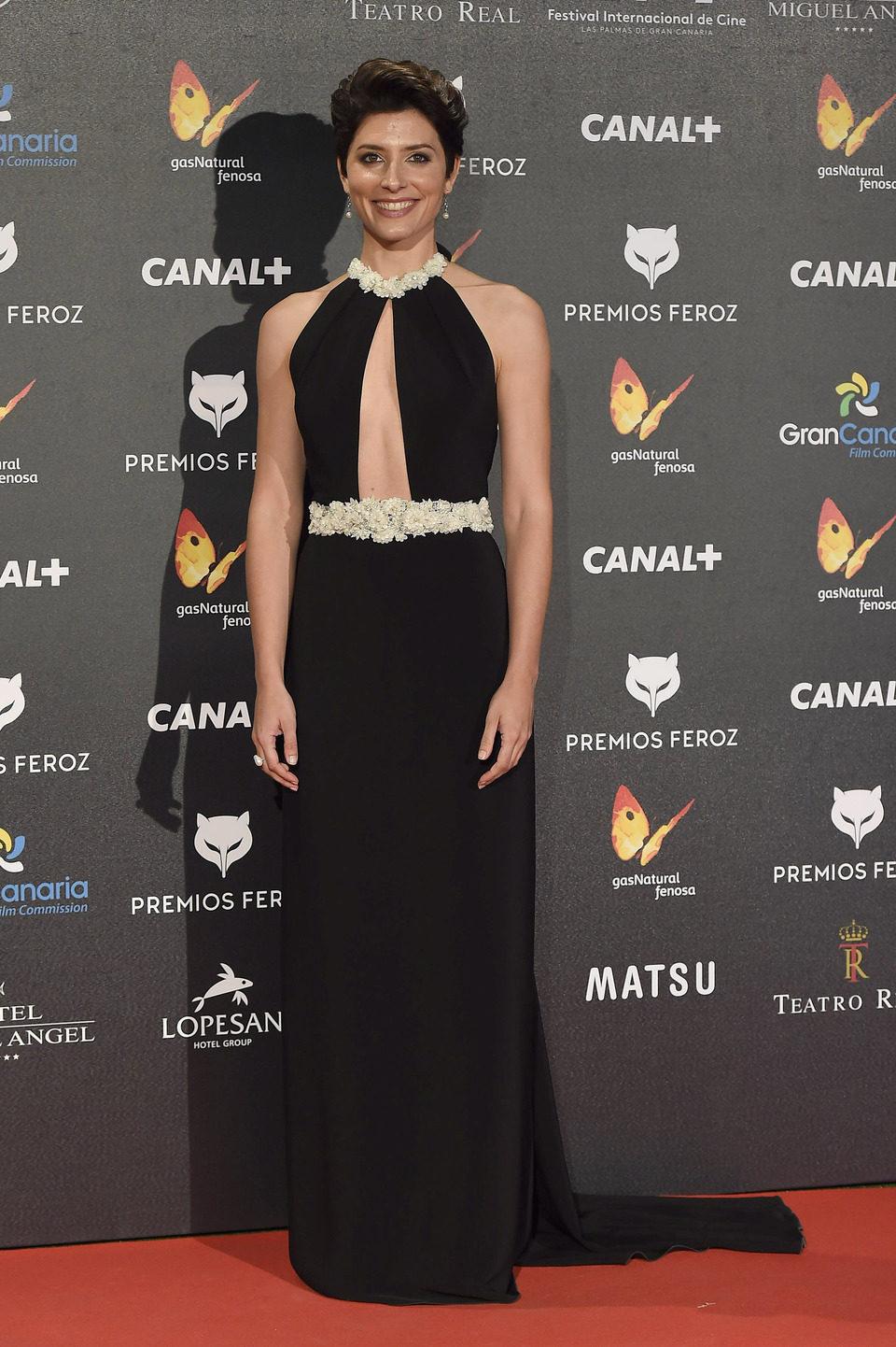 Bárbara Lennie en los Premios Feroz 2015