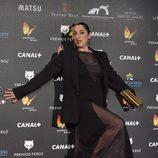 Rossy de Palma en los Premios Feroz 2015