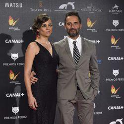Leonor Watling y Jorge Drexler en los Premios Feroz 2015