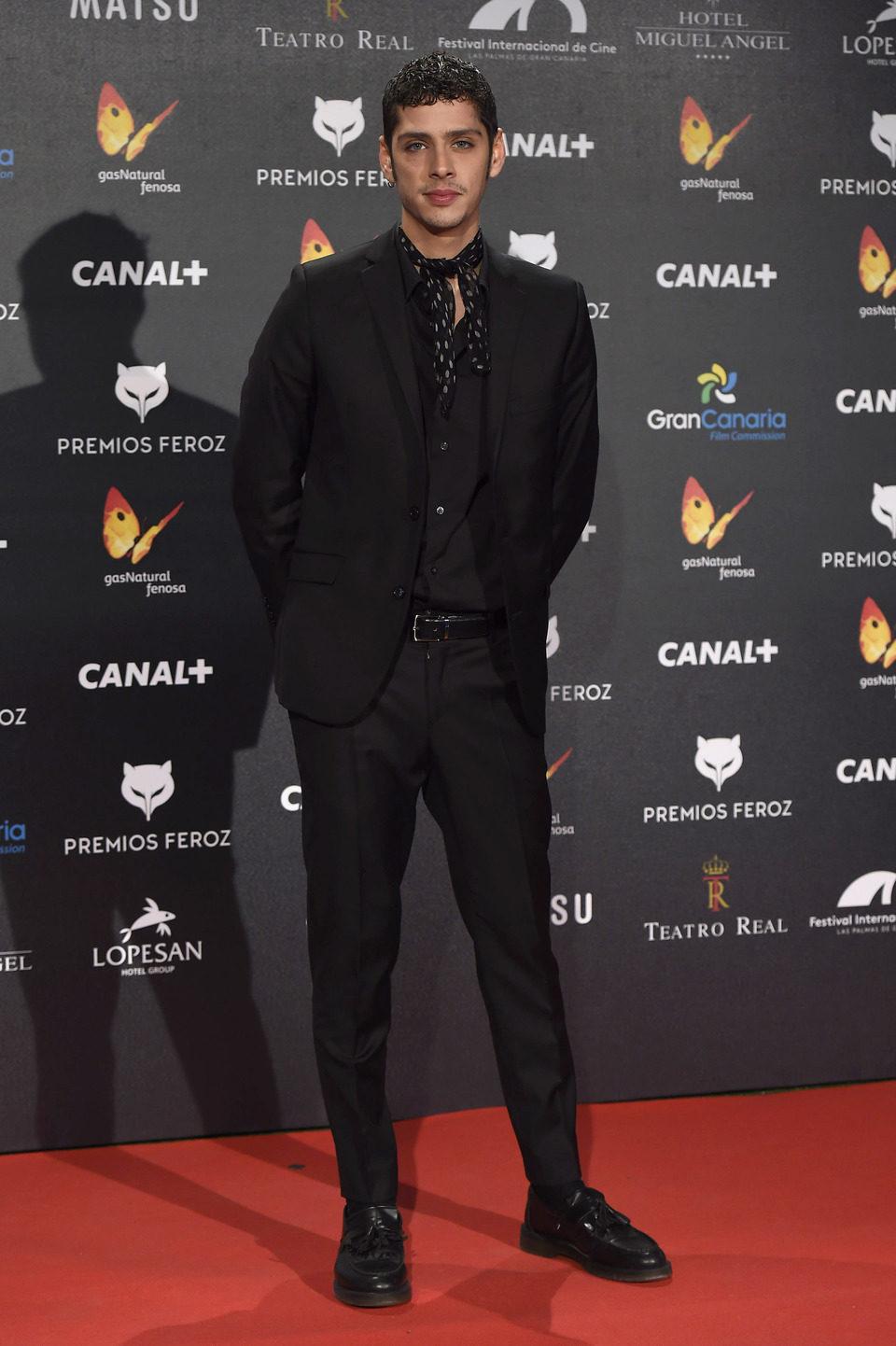 Eduardo Casanova en los Premios Feroz 2015