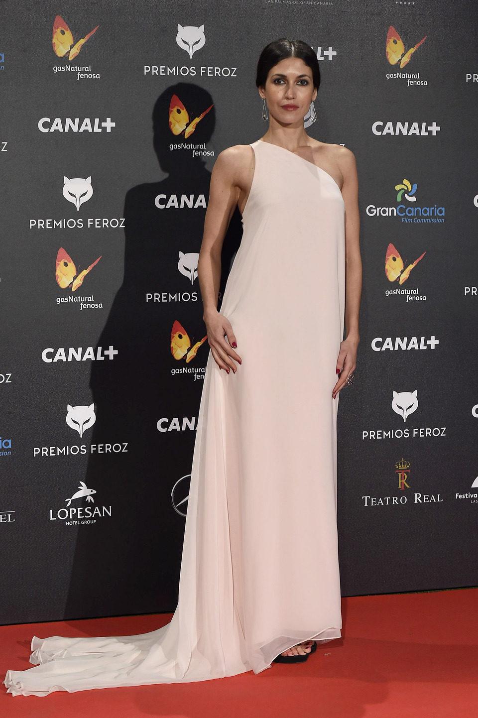 Nerea Barros en los Premios Feroz 2015