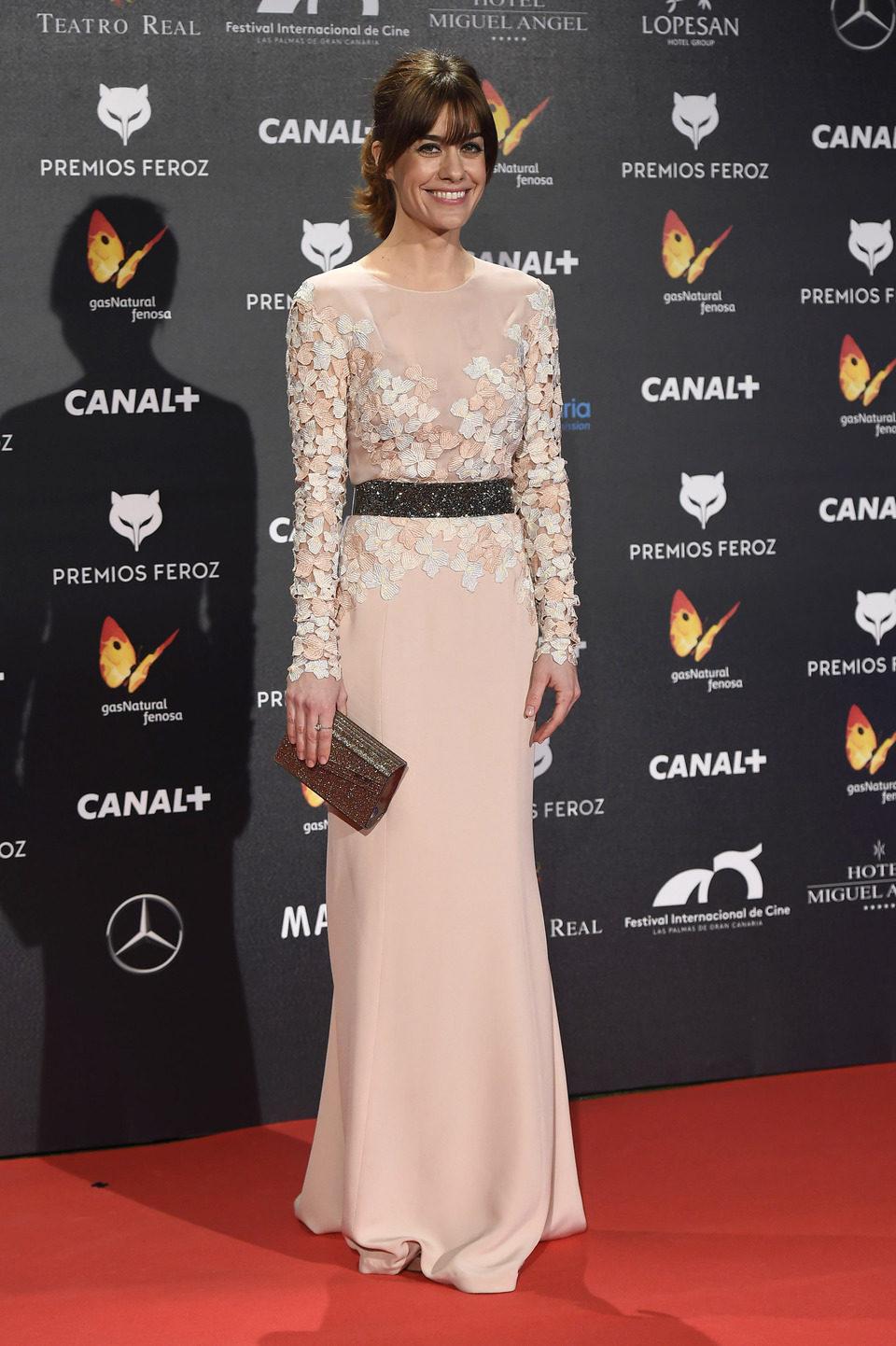 Alexandra Jiménez en los Premios Feroz 2015