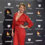 Marta Larralde en los Premios Feroz 2015