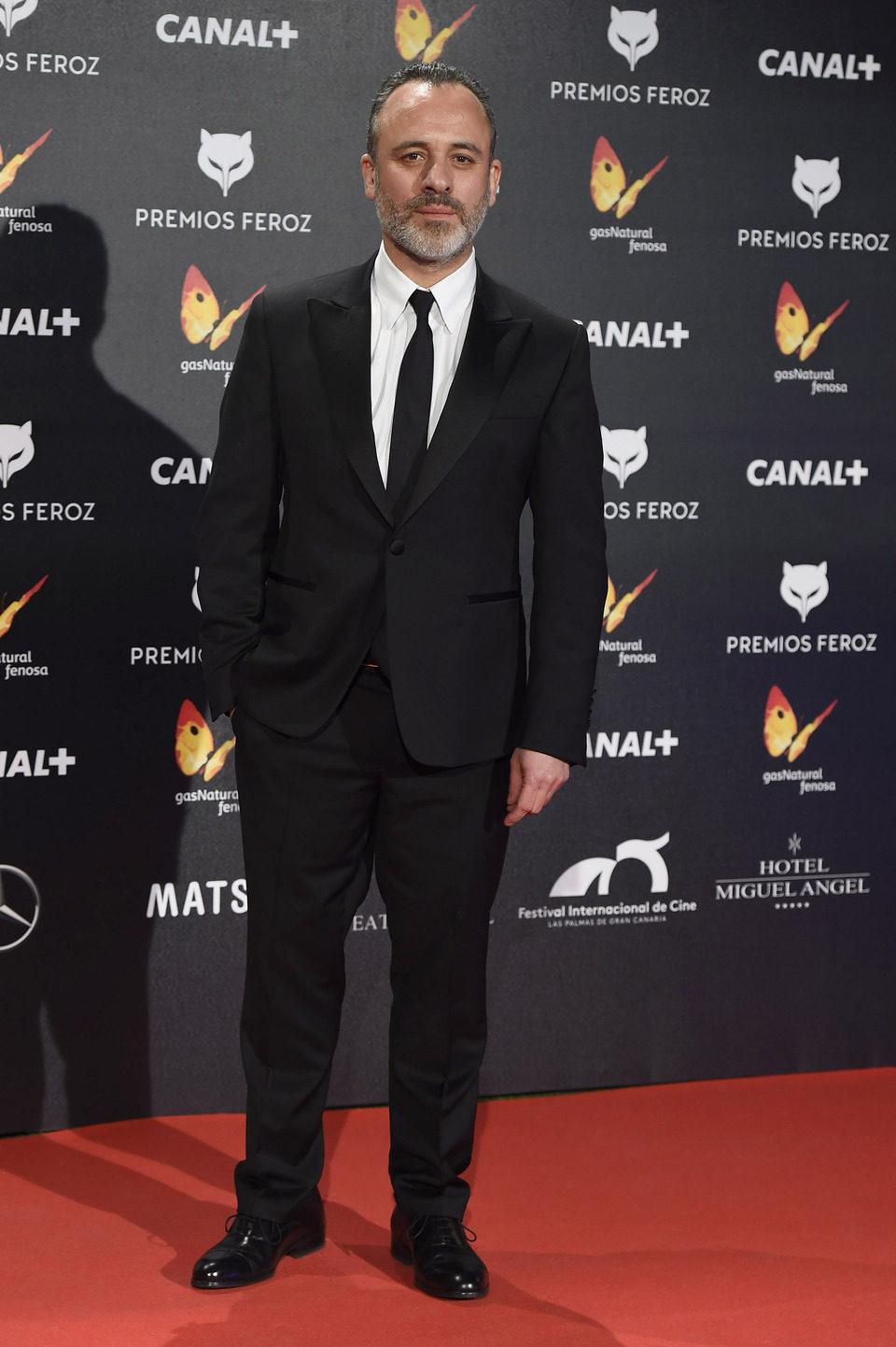 Javier Gutiérrez en los Premios Feroz 2015