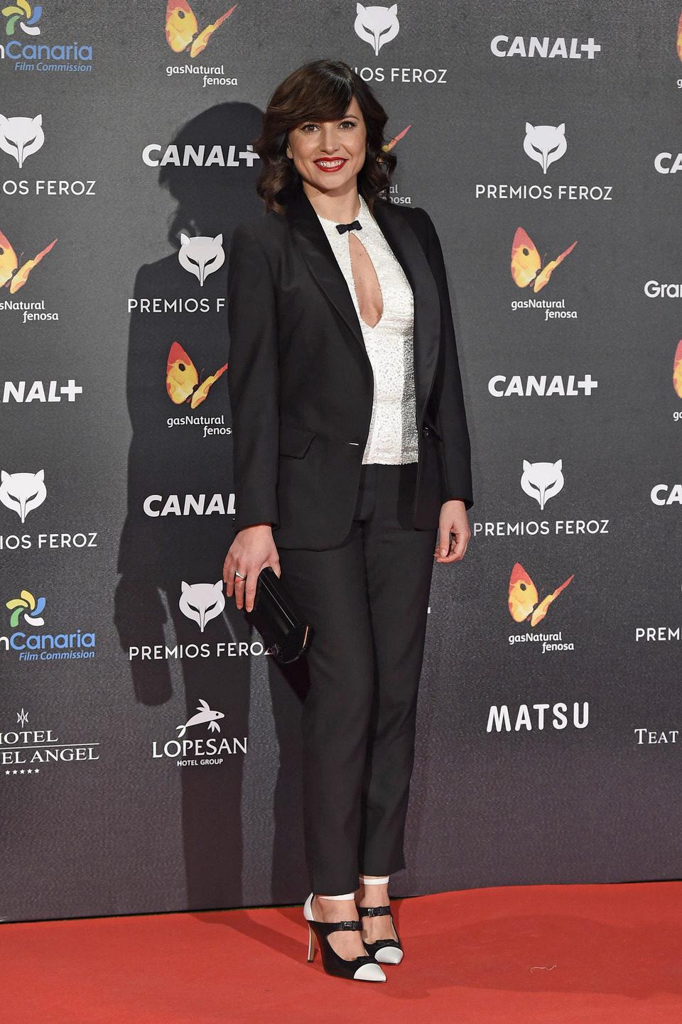 Marian Álvarez en los Premios Feroz 2015