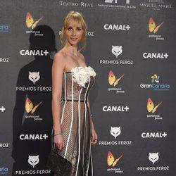 Ingrid García en los Premios Feroz 2015
