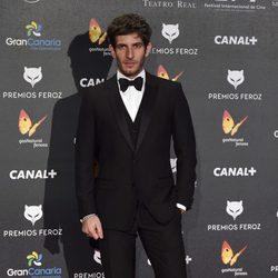 Quim Gutiéerrez en los Premios Feroz 2015