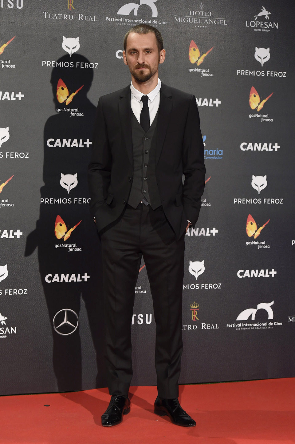Raúl Arévalo en los Premios Feroz 2015