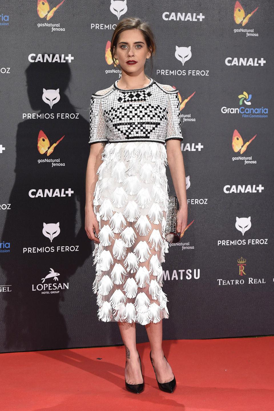 María León en los Premios Feroz 2015