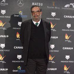 Enrique González Macho, presidente de la Academia de Cine Española, en los Premios Feroz 2015