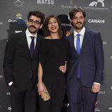Carlos Marques-Marcet, Natalia Tena y David Verdaguer en los Premios Feroz 2015